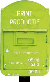 print productie