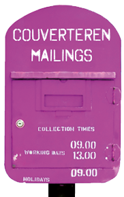 couverteren mailings